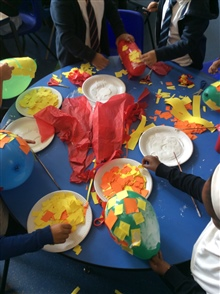 Y1 Making Lanterns